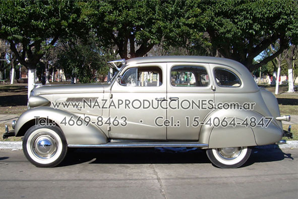 Chevrolet 1937 en Isidro Casanova