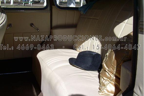 Interior de Chevrolet 1937