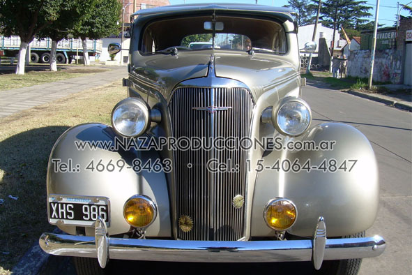 Frente Chevrolet 1937